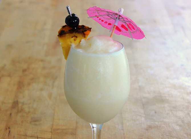 New Recipe Page: Piña Colada
