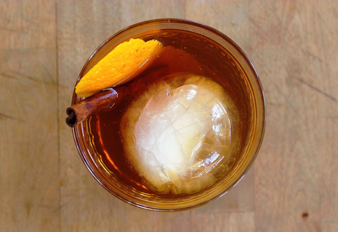 New Recipe Page: Applejack Old Fashioned