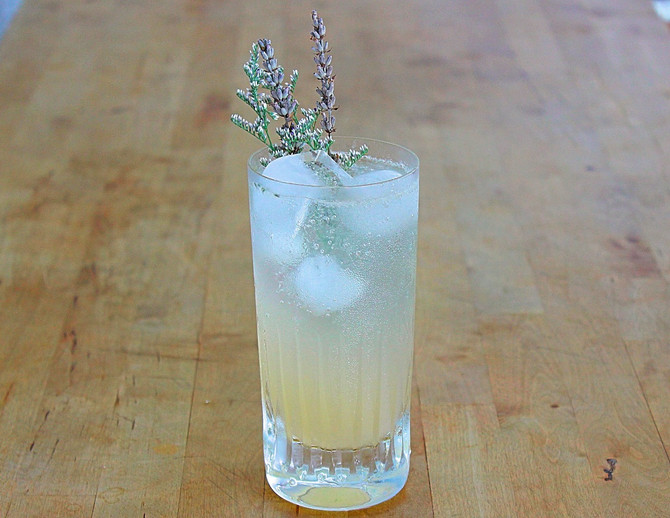 New Recipe Page: Willow's Fizz