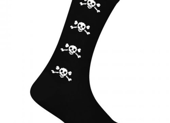 chaussettes médium «Macahel « , Skull Pirate
