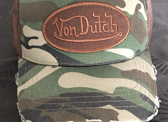 Casquette Von Dutch Camo