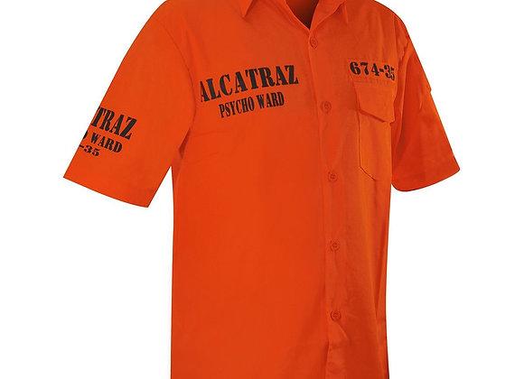 Chemise Jawbreaker Collector -  « Alcatraz Psycho orange «