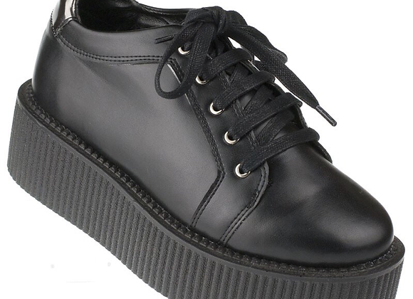 Chaussure CREEPERS unisexe Winged Skull . taille 41
