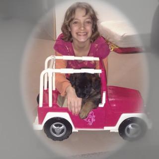 Barbie Jeep Rides