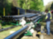 HDPE pipe fusion