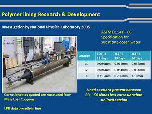 Polymer Lining Technology