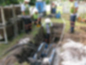 Pipe bursting water main Florida