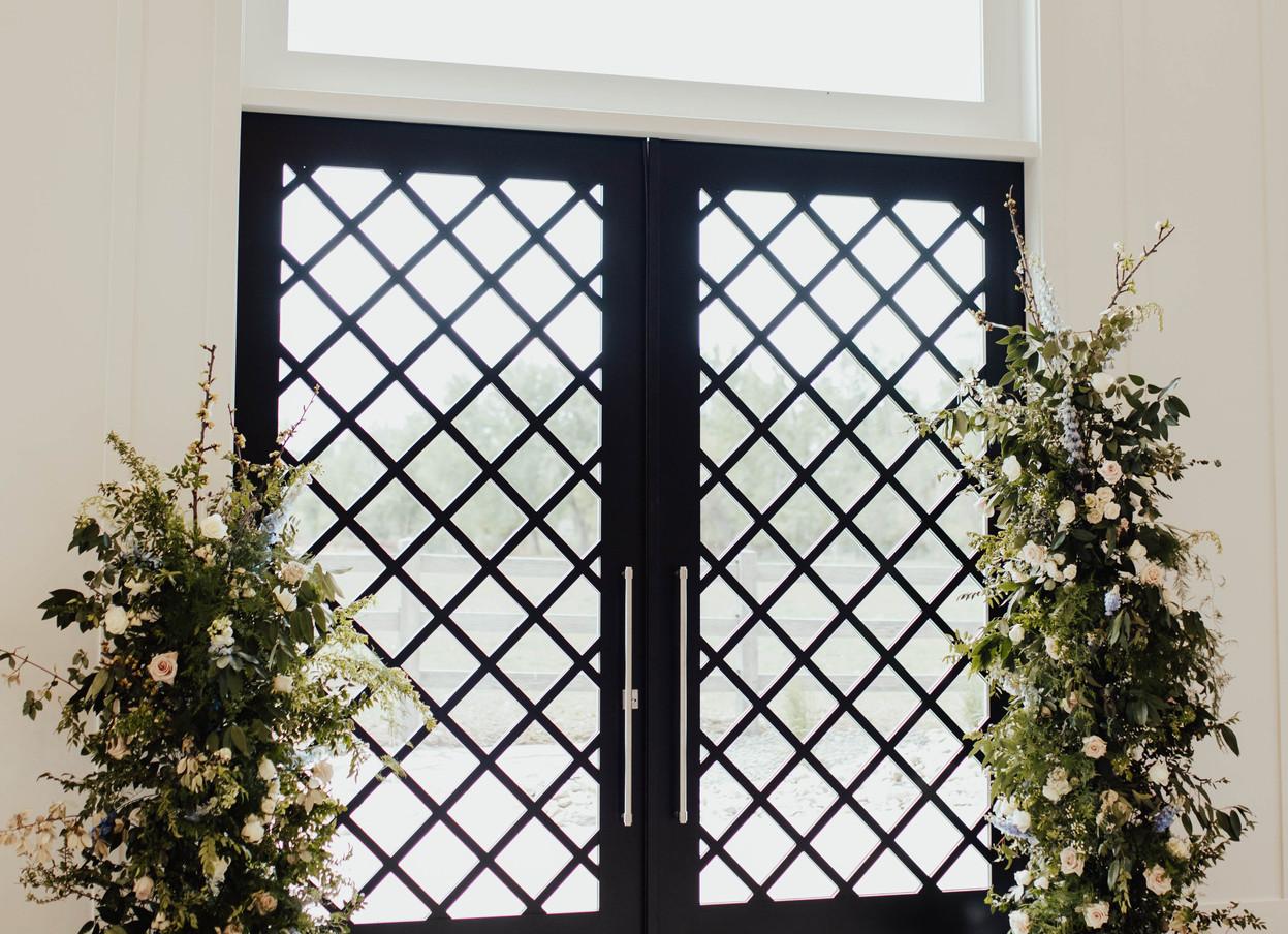 Lattice Feature Doors