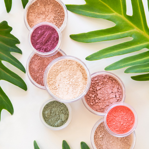 Tropical Colours Flat Eyeshadows Blushes