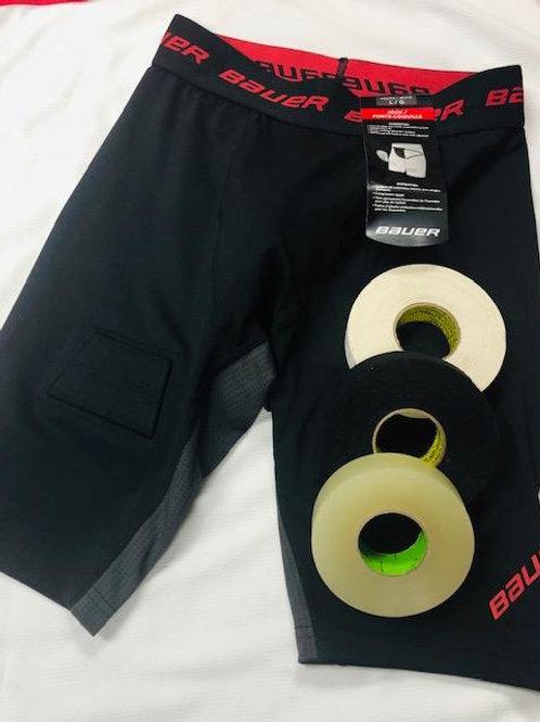 Bauer Compression short/stick tape