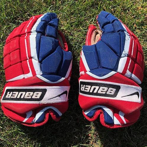 NYR Bauer gloves 14 inch