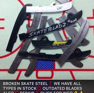 Broken skate steel ?