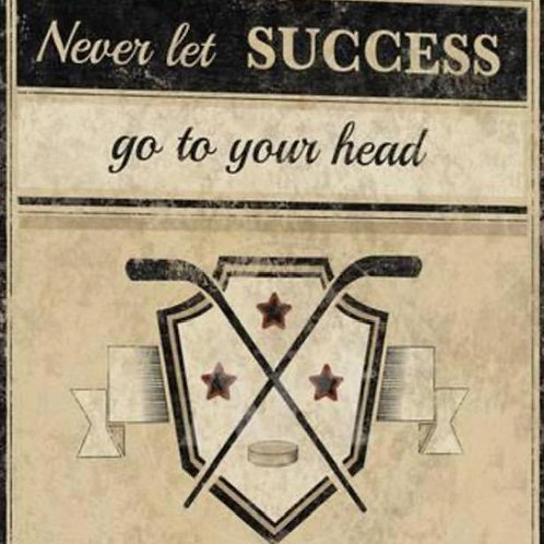 Hockey Success - Framed/Matted