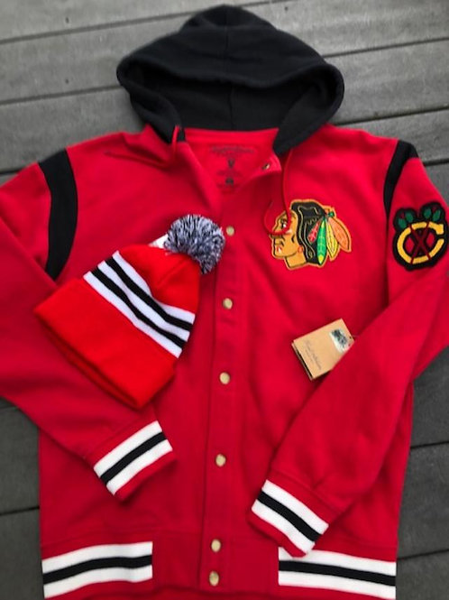 Blackhawks Hooded Jacket/Plus