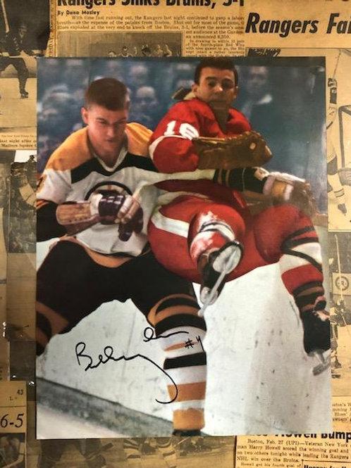 Bobby Orr Signed 8 x 11