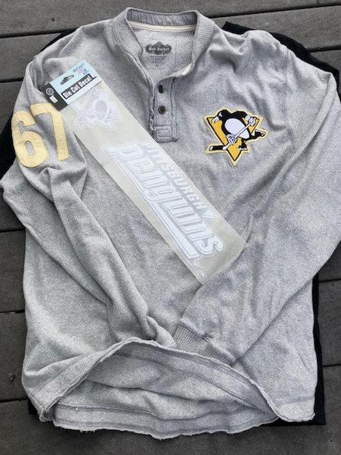 Penguins Raglan +