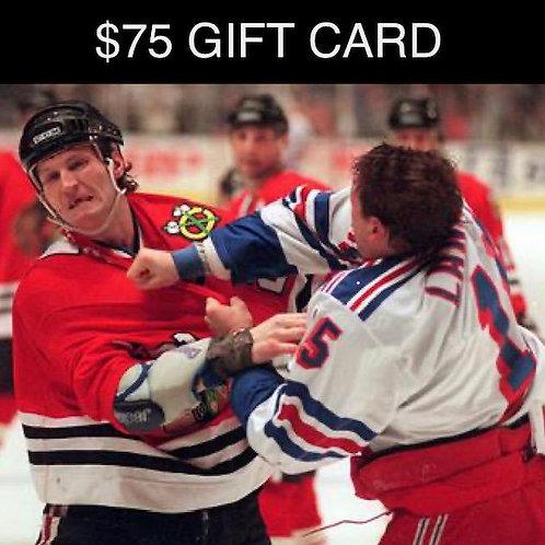 $75 ProShop GiftCard