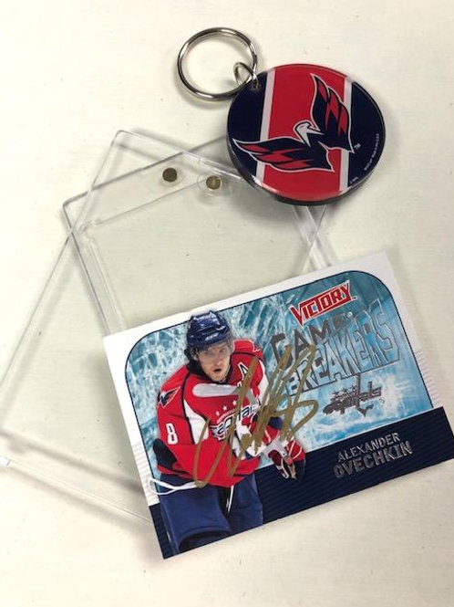Ovechkin Signed '08 Card