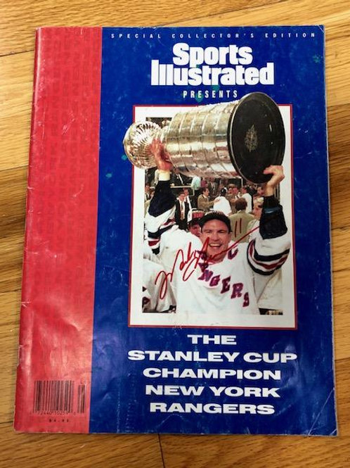 MESSIER '94 Signed Sport Illustrated