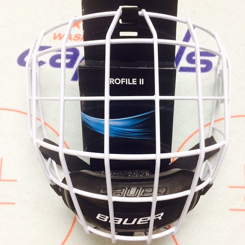 Bauer White Profile Cage