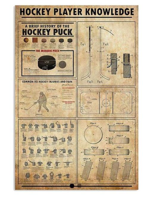 History of Hockey - Print 24 x 30