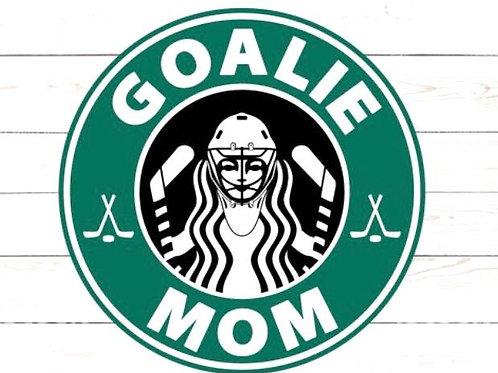 GoalieMom Coffee Tee