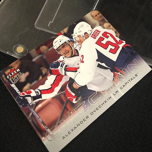 Ovechkin Signed Card