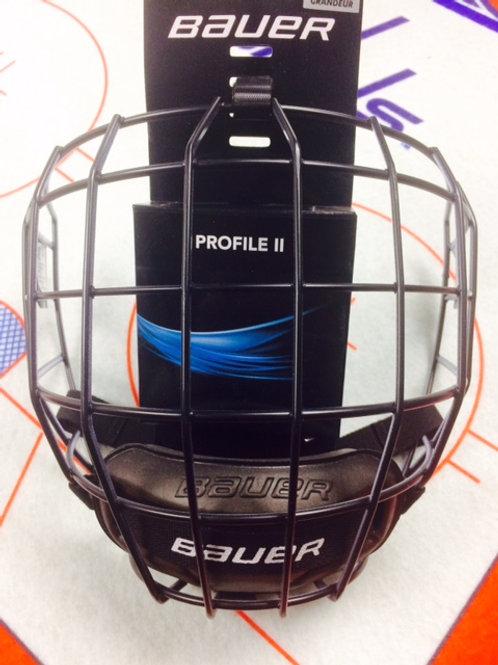 Bauer Profile 2 Black/Oreo Cage