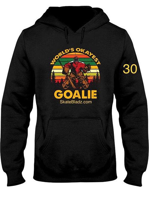 Custom # Okay Goalie Hoody