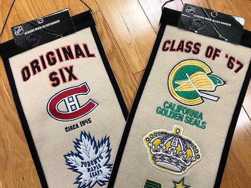 Original 6 or Class of 67 Banner