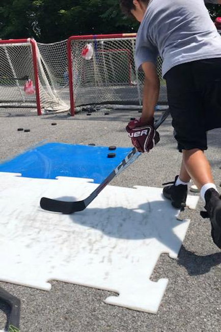 4 Sessions of Puck Shooting!