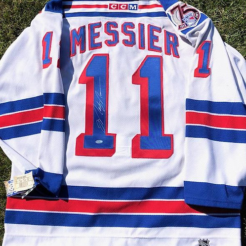 Messier Sept11 Game Jersey
