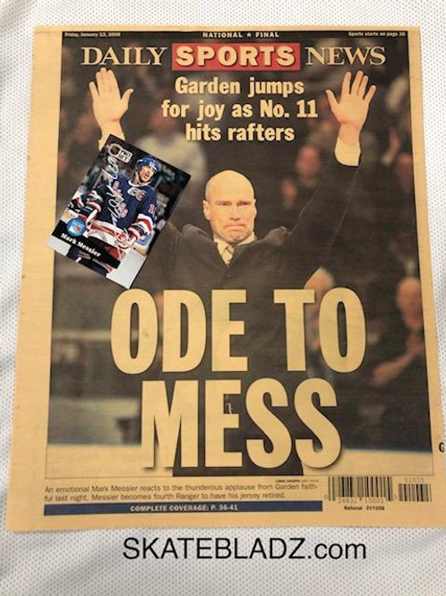 NYR / Messier Signed 2 pack