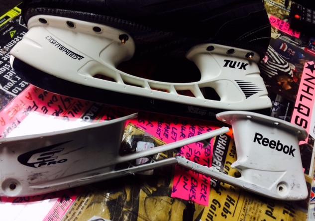 Broken skates