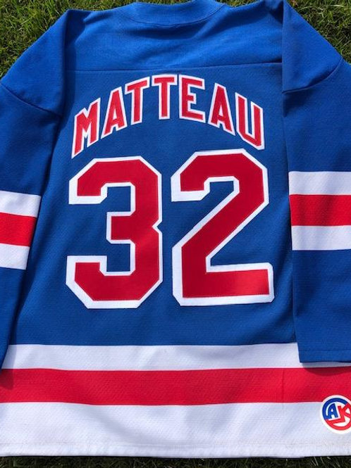 """NYR"" customized Jersey"