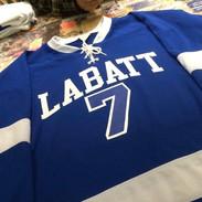 Labatt Hockey Jerseys