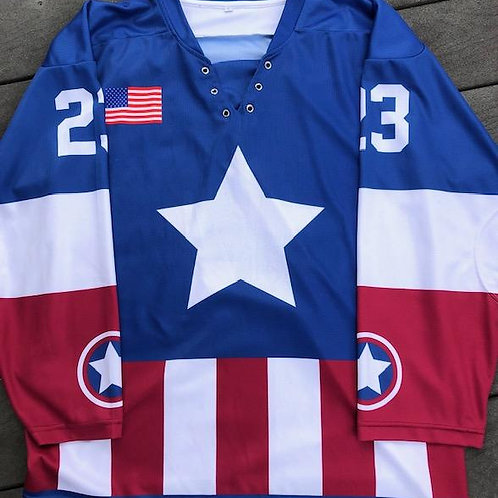 Capt. America Jersey