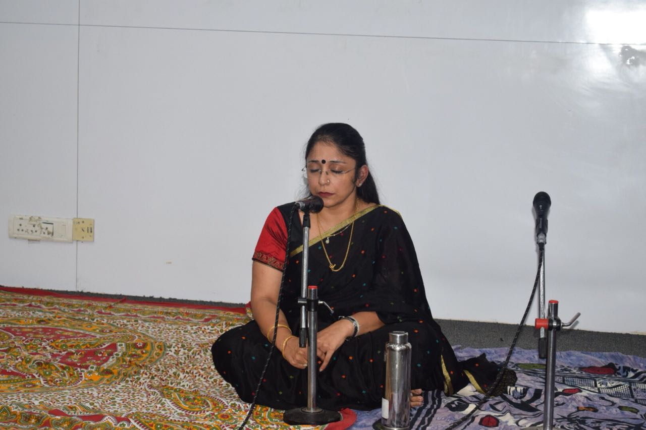 Aparna Performing
