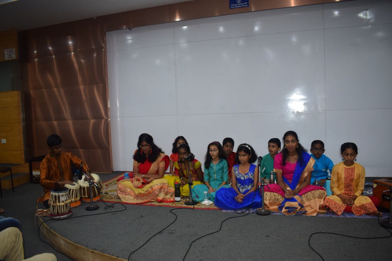 Students Group performing