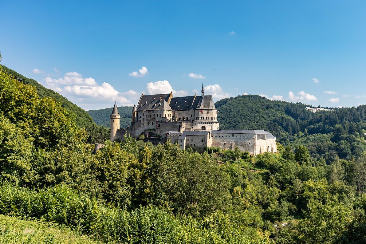 Schloss Vianden Luxemburg