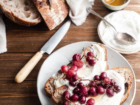Walnut and Cranberry Sourdough Bread