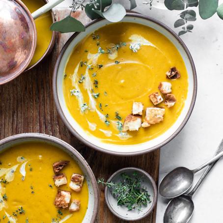 Kabocha and Miso Soup