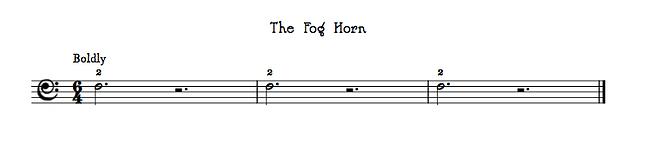 The Fog Horn by Gaynor Leigh