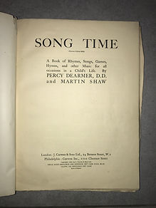 Front cover of the a music compilation, containing the SongTime manuscript of northumbrian smallpipes tunes possibly by Robson Boot