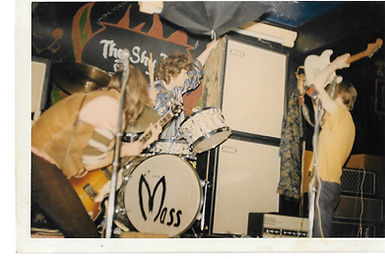 Psychedelic Rock Band The Peoples Mass smashing their instruments at a Freak Out in 1967.