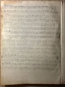 The Halifax manuscript of northumbrian smallpipes tunes possibly by Robson Boot