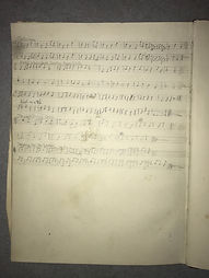 The Song Time Manuscript: six of the seaton snook northumbrian smallpipes pieces, possibly written by Robson Booth