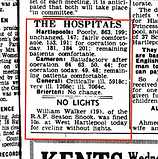 Northern Daily Mail, December 13 1967 clipping