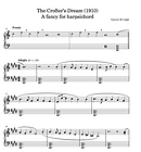 Detail of the score for The Crofter's Dream by Gaynor Leigh