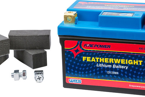 FIRE POWER FEATHERWEIGHT LITHIUM BATTERY 150 CCA HJTZ7S-FP-IL 12V/29WH *FREE SHI